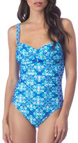 La Blanca One-Piece Kaleidoscope-Printed Swimsuit