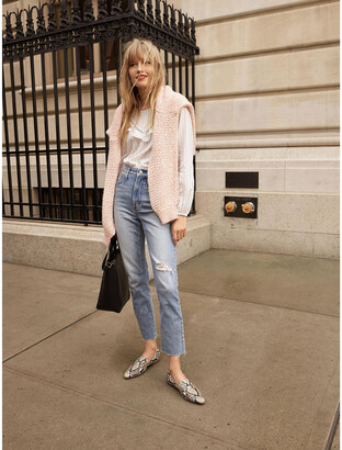 Madewell The Petite Perfect Vintage Jean in Rosabelle Wash: Comfort Stretch Edition