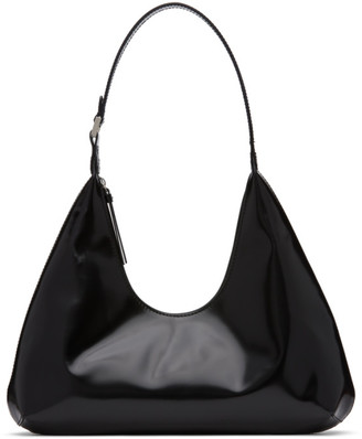 BY FAR Black Amber Shoulder Bag