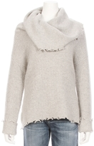RtA Erin Big Collar Cashmere Sweater