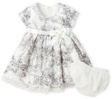 Bonnie Baby Infant Girls) Two-Piece Floral Dress & Bloomers Set