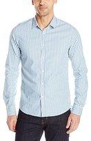 Scotch & Soda Men's Longsleeve Oxford Shirt with Crincle Wash. Collar: Classic.