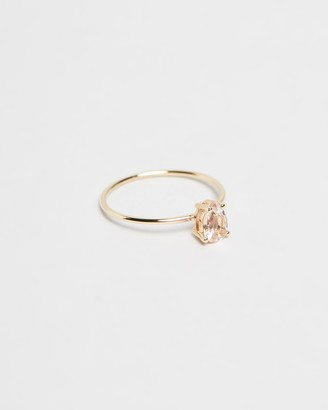 Natalie Marie Jewellery Tiny Pear Ring