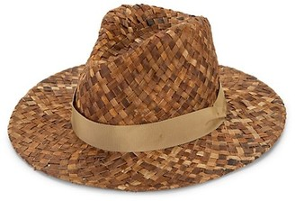 Rag & Bone Panama Coconut Straw Fedora