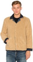 Simon Miller M701 Asahi Jacket with Faux Sherpa Lining