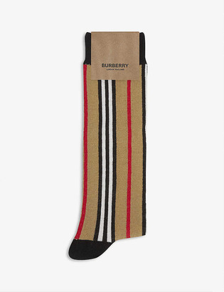 Burberry Icon stripe cotton-blend socks