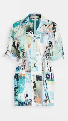 Zimmermann Glassy Safari Mini Dress