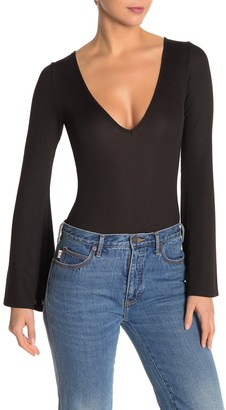 Urban Outfitters Charli Rib Knit Bodysuit