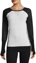 Blanc Noir Women's Mesh Vent Sweater