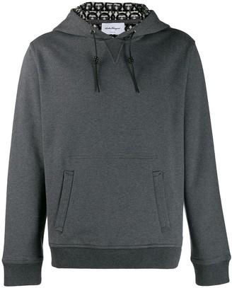 Salvatore Ferragamo long-sleeved hoodie