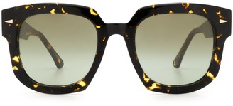 AHLEM Vivienne Yellow Turtle Sunglasses