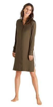 Hanro Women's Nori Long Sleeve Gown