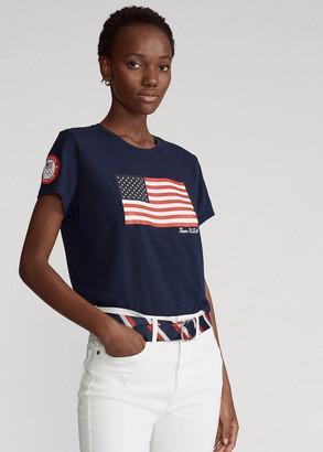 Ralph Lauren Team USA One-Year-Out Flag Tee