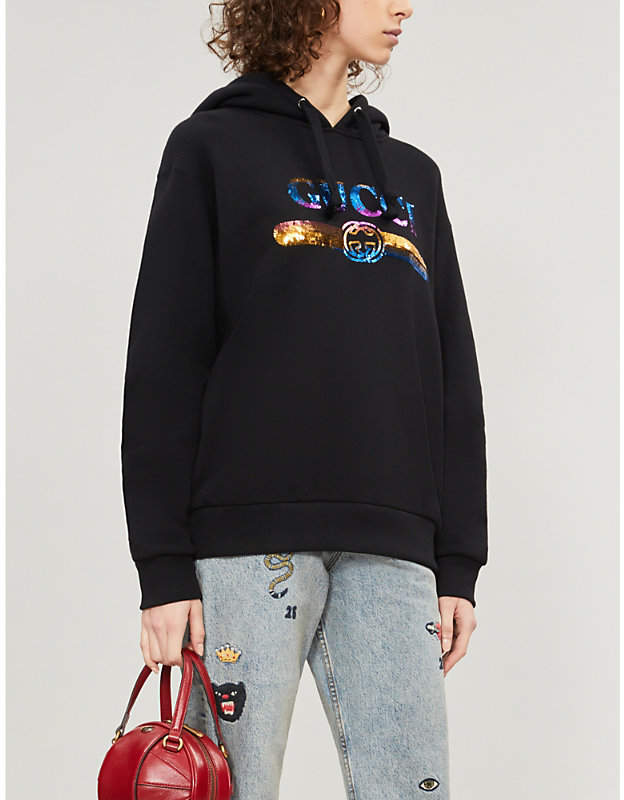 5a144a0b574a Gucci Red Women's Sweatshirts - ShopStyle