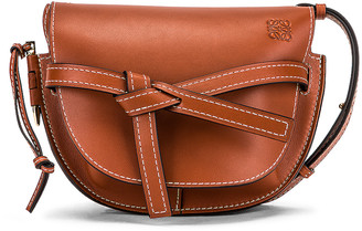 Loewe Gate Small Bag in Rust | FWRD