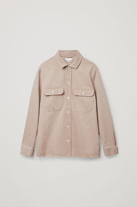 Cos Organic Cotton Denim Shirt