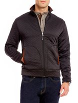 Daniel Cremieux Quilted Full-Zip Long-Sleeve Shirt Jacket