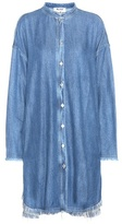 Acne Studios Gracie Denim Shirt Dress