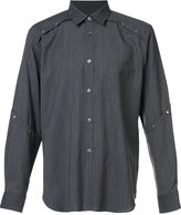 Comme des Garcons striped shirt - men - Polyester/Wool - XS