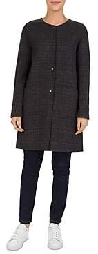 Gerard Darel Plume Reversible Wool Coat
