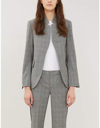 Zadig & Voltaire ZADIG&VOLTAIRE Very checked wool-blend blazer