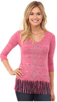 Rock and Roll Cowgirl 3/4 Sleeve Knit 48T4296