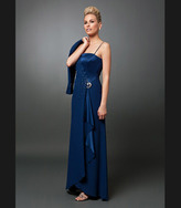 Daymor Couture - Two-Piece A-Line Dress with Matching Bolero 702006