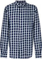 Closed checked shirt - men - Cotton - S