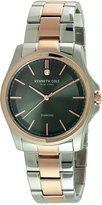 Kenneth Cole New York Men's Diamond Accent Two-Tone Stainless Steel Bracelet Watch 44mm 10027880