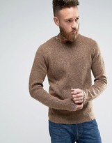Asos Textured Knit Sweater with Clean Edges