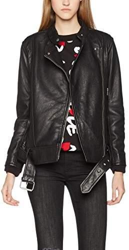 J. Lindeberg Women's Maya Summer Leather Jackets,(Size:38)