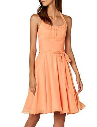 Astrapahl Women's co8002ap Knee-Length Plain Cocktail Sleeveless Dress,8 (Manufacturer Size: 32)