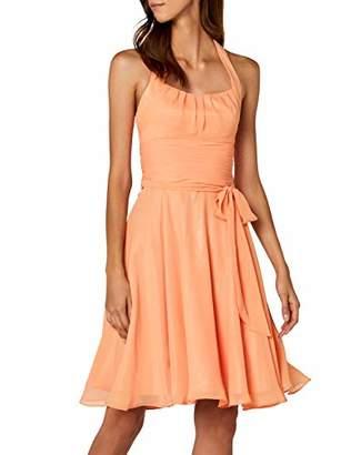 Astrapahl womens co8002ap Knee-Length Plain Cocktail Sleeveless Dress,(Manufacturer Size: 34)