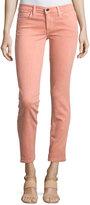 Joe's Jeans Straight-Leg Twill Ankle Pants, Tigerlily