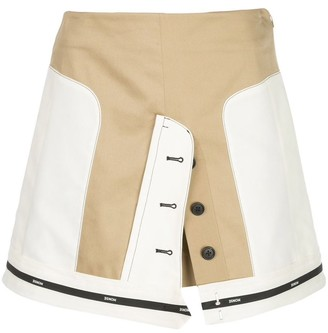 Monse Panelled Mini Skirt