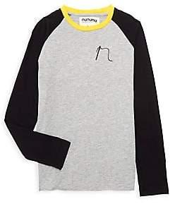 Nununu Little Kid's Tricolor Baseball Shirt