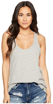 Hurley Perfect Tank Top (Grey Heather) Women's Sleeveless