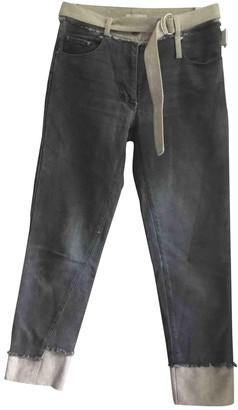 3.1 Phillip Lim Grey Cotton Jeans for Women