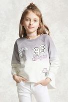 Forever 21 FOREVER 21+ Girls Dip Dye Sweatshirt (Kids)