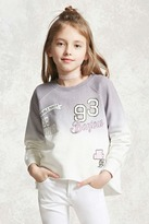 Forever 21 Girls Dip Dye Sweatshirt (Kids)