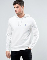 Asos Hoodie In Off White With Logo