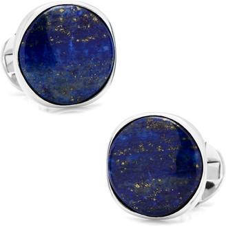 Cufflinks Inc. Lapis Sterling Silver Cuff Links