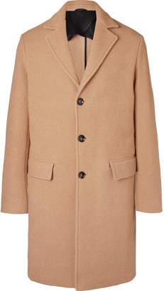 Mr P. Virgin Wool And Camel Hair-Blend Overcoat