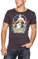 Logoshirt Slim Fit DC Wonder Woman Stars Logo Men's T-Shirt Light - -