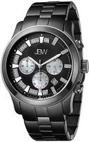 JBW Black Delano Chronograph Watch - Men