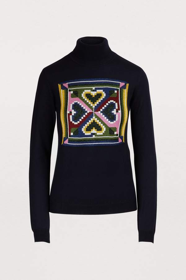 Marco De Vincenzo High neck sweater
