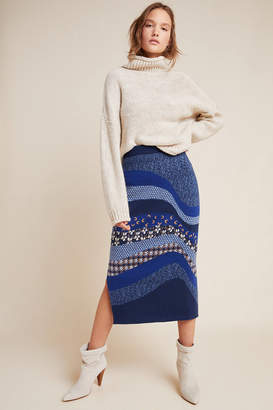 Anthropologie Lavinia Sweater Pencil Skirt