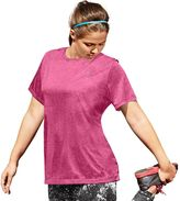 Champion Women's Plus Size Scoopneck Vapor Active Tee