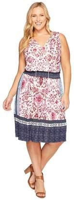 Lucky Brand Women's Plus Size Kerry Knit Dress