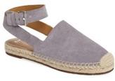 Marc Fisher Women's Nuri Ankle Strap Espadrille Flat